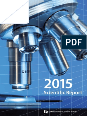 2015 Scientific Report Iib Sant Pau Health Care Public