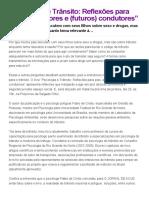 """""""Psicologia e Trânsito_ Reflexões para pais, educadores e (futuros) condutores"""" _ O Jornal de Hoje.pdf"""