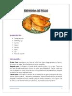 Empanada de Pollo 1 1