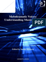 Melodramatic Voices Understanding Music Drama