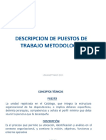 Sesion Nro. 3 Metodologia Descriptivo de Puestos