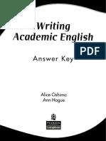 Oshima Alice, Hogue Ann.-Writing Academic English Answer Key.pdf