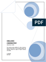 Organic Chemistry Lab Manual