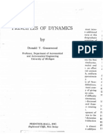 Donald T. Greenwood-Principles of Dynamics (2nd Edition)-Prentice Hall (1987)