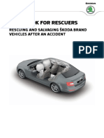 Skoda Guidebook for Rescuers English