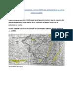 Mapa Cartografiado Por El IGM Es Parte Del Expediente de La Ley de Creacion Del Distrito de Samanco