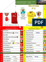 Premier League 180311 round 30 Arsenal - Watford 3-0