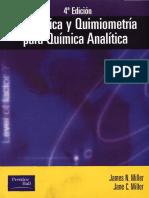 Copia de Estad¡stica Y Quimiometr¡a Para Qu¡mica Anal¡tica, 4¦ Ed (James N Miller & Jane C Miller) By Poly.pdf