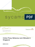 Survey Opinion - Online Piracy Behaviour and Attitudes in Singapore - Public Deck