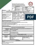 Planeación FÍSICA 4.2