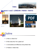 EY Global Cities NY London Paris Tokyo