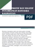 Dampak Positif Dan Negatip Penambangan Batubara Kalimantan