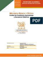 UEA y SD Mecánica Básica y Opt