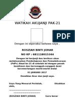 Akujanji PAK21