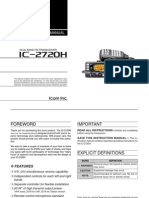 Icom IC-2720H Instruction Manual