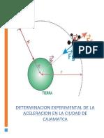 Aceleracion en Cajamarca -Fisica