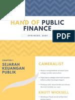 Handbook of Public Finance (Springer)