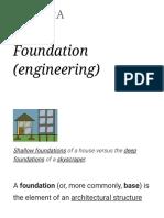 Foundation (Engineering) - Wikipedia