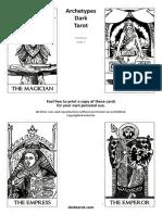 Printable Tarot