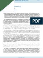 Convocatoria oposición secundaria País Vasco