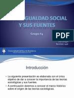 La Desigualdad Social y Sus Fuentes