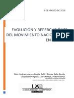 Evolución y Repercusiones Del Movimiento Nacionalista en Galicia
