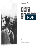 Nicanor Parra Poems