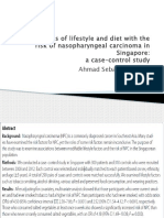 Associations of Lifestyle and Diet With The