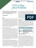 A Five-Step Market Portfolio (Hicks, Jan 2005)