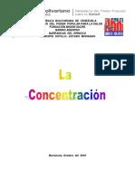 La Concentracion