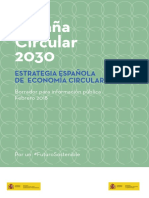 Estrategia de economía circular en España