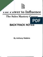 Anthony Tony Robbins - The Power To Influence.pdf