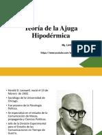 Clase 2 - Teoría de La Ajuga Hipodérmica
