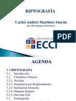 Clases 1-5 Criptografia ECCI 2016-2 Sem