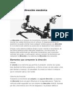 Sistema de Dirección Mecánica