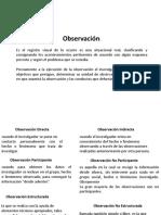 Métodos de obtención de datos