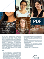 """""""Becas Para las Mujeres en la Ciencia L'Oréal–UNESCOCONACYT-AMC"""""""