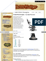 Battlecollege - Wraith Witch Deneghra - Cryx Epic Warcaster