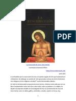 Piñero Geza Vermes - La Resurrección de Jesús