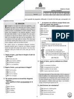 Prueba Diagnóstica 7º Español (2011)