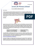 y3   4 parents curriculm letter march 2018