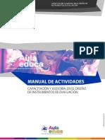 Capacitación y Asesoría, En El Diseño de Instrumentos de Evaluación Básica