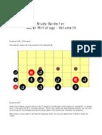 Metal Riffology Volume III-Study Guide