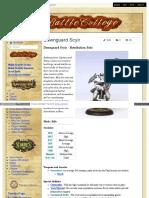 Battlecollege - Dawnguard Scyir - Retribution Solo