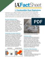 Osha Combustible Dust