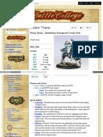 Battlecollege - Destor Thane – Retribution Dawnguard Cavalry Solo