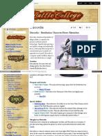 Battlecollege - Discordia – Retribution Character Heavy Myrmidon