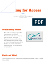 planningforaccesspresentation cwelch