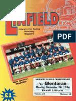 Vol 24 - Linfield v Glentoran 26.12.94