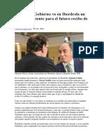 2018 02 25 Por Qué El Gobierno Ve en Iberdrola Un Peligro Creciente Para El Futuro Recibo de La Luz